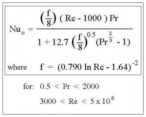 Forced Convection Heat Transfer Coefficient Calculator Nusselt Number Correlations