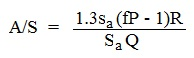 dissolved air flotation design calculations equation for air-solids ratio